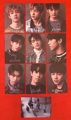 Stray Kids Pre-Debut Album 'Mixtape' Pre Order Postcard Set