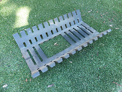 Heavy duty fire grate with hole, Item 56, Pick up Langwarrin