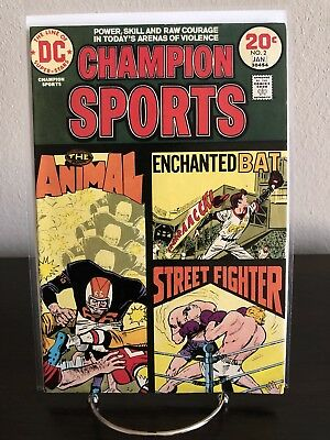 CHAMPION SPORTS #2 DC Comics 1974
