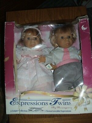 """Expressions Twins By Berenguer, 1995, Pouty, 12"""", #9650"""
