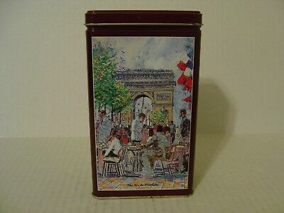 Maxwell House 1993 Inspirations Of Paris Rich French Roast Coffee Tin