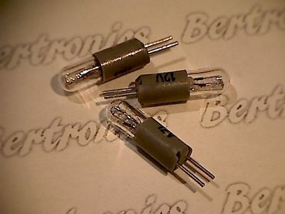 lamp - Lampe  10pcs.  12V  50mA  T1 1/4  5x14  Bi-Pin