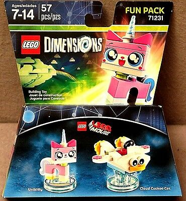 LEGO® DIMENSIONS™ Unikitty Fun Pack Brand New in Package Super Cute