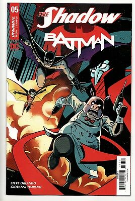 The Shadow Batman #5 - Cover C (DC/Dynamite, 2018) - New/Unread (NM)