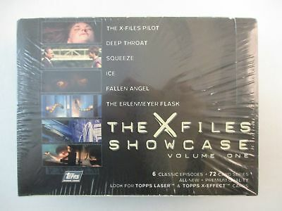 Topps X-Files Showcase Volume One Trading Cards Box NEW Factory Sealed 36 Packs