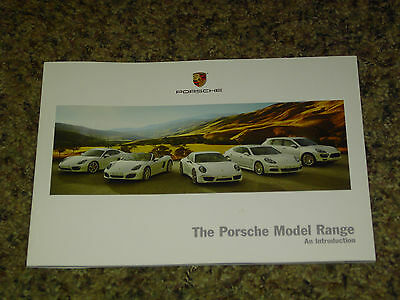 2013 Porsche Model Range Sales Brochure Mint! 40 Pages