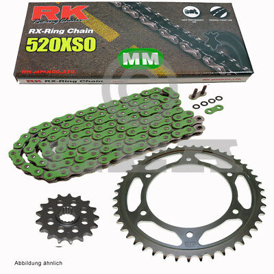 Kit Chaîne Yamaha Sr 500 Sp 91-99 Conversion RK Mm 520 Xso 104 Ouvrir Taille