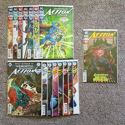DC Comics - Rebirth - Action Comics (2016-) #985 & 986 - 1st Prints NM
