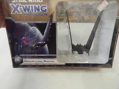 Star Wars X Wing game miniature UPSILON CLASS SHUTTLE
