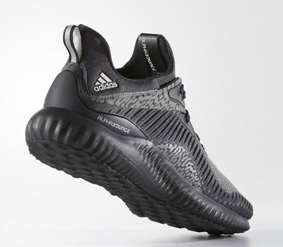 19cc2aad0ad2e nEW ADIDAS ALPHABOUNCE HPC AMS M Men Size 9.5 RUNNING SHOES REFLECTIVE  DA9561