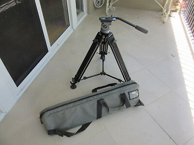 Miller DS-10 tripod with carry bag - great condition