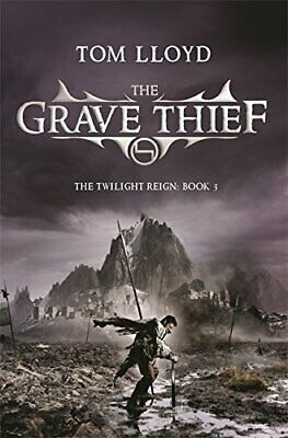 The Grave Thief by Lloyd, Tom Paperback Book The Fast Free Shipping