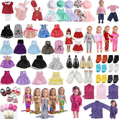 "For 18"" American Girl Our Generation My Life Dolls Clothes Dress Shoes Accessory"