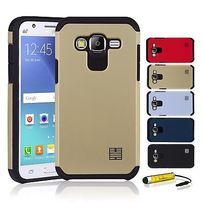 Dual-Layer Hybrid Slim Armour Shockproof Case Cover For Samsung Galaxy J5 (2015)