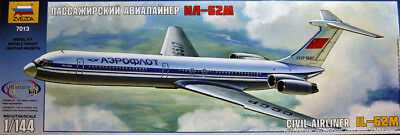 Illushin Il - 62m Zvezda 1:144 Kit Z7013 Model