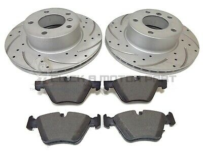 NOT M SPORT BMW 318i 318D 05-11  E90  FRONT /& REAR MINTEX BRAKE DISC PADS