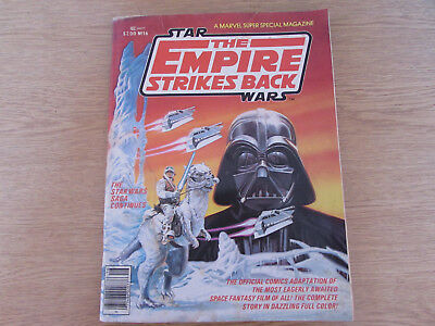 1980 MARVEL SUPER SPECIAL MAGAZINE No.16 STAR WARS THE EMPIRE STRIKES BACK