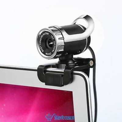 360° USB 12MP 1080P HD Webcam Web Cam Camera for Computer PC Laptop Desktop UK
