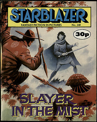 Slayer In The Mist,starblazer Fantasy Fiction In Pictures,no.240,1989,comic