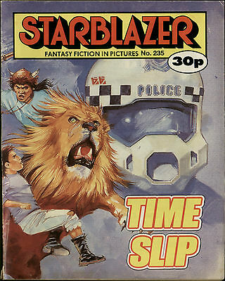 Time Slip,starblazer Fantasy Fiction In Pictures,no.235,1989,comic