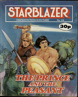 The Prince And The Peasant,starblazer Fantasy Fiction In Pictures,no.238,comic