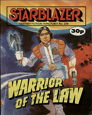 Warrior Of The Law,starblazer Fantasy Fiction In Pictures,no.236,1989,comic