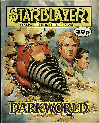 Darkworld,starblazer Fantasy Fiction In Pictures,no.234,1989,comic