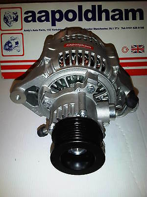 LAND ROVER DISCOVERY TD5 2.5 DIESEL NUOVISSIMO 120A Alternatore & FRENO POMPA