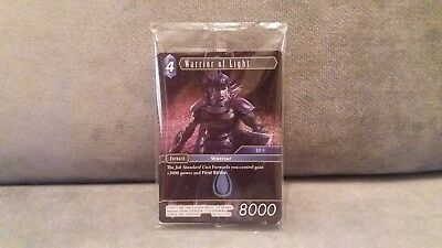 Dissidia Final Fantasy NT Promo set of 3 TCG Cards,New & sealed,No game included