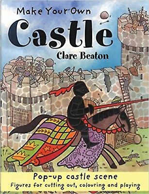 Make Your Own Castle by Clare Beaton (Paperback) Pop-up Castle Scene