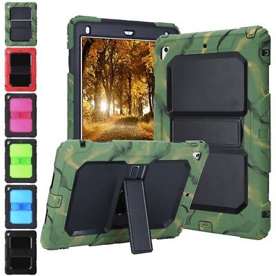 FOR 5th Generation 2017 iPad 9.7 Duty Protective Shockproof Stand Case Cover