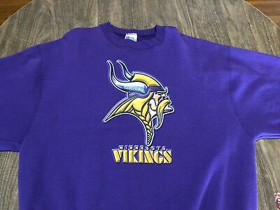 Vintage Minnesota Vikings Purple XL Pro Line Sweatshirt NFL Football 90s 91de040e0
