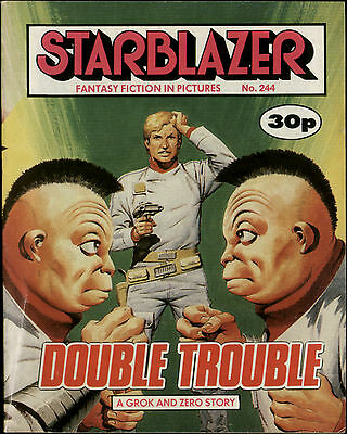 Double Trouble,starblazer Fantasy Fiction In Pictures,comic,no.244,1989