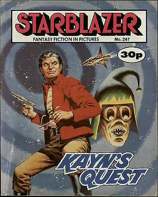 Kayn's Quest,starblazer Fantasy Fiction In Pictures,comic,no.247,1989