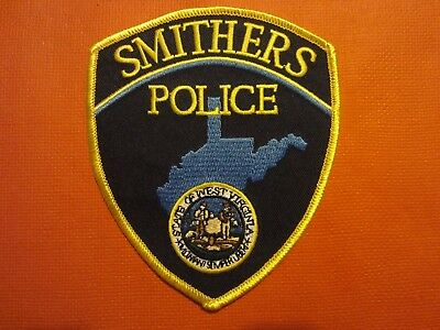 Collectible West Virginia Police Patch, Smithers, New