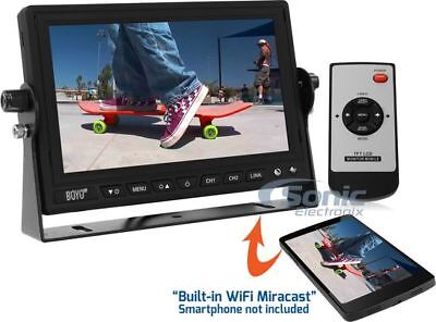 """BOYO VISION 7"""" HD Digital Panel Back Up Monitor with Built-In Miracast 
