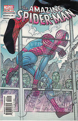 AMAZING SPIDERMAN 45...Vol 2...NM-...2002...John Romita Jr...Bargain!