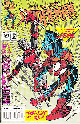 AMAZING SPIDERMAN 396...NM-...1994...Daredevil,Vulture!...Bargain!