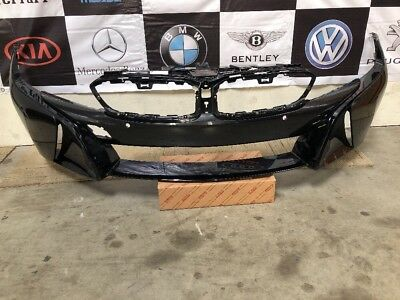 Bmw I8 Front Bumper Trim Grill Grille Pair Left Right 51137370635