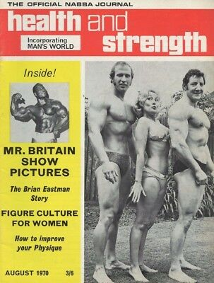 Vintage Health & Strength Bodybuilding Magazine August 1970