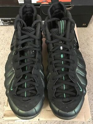 6dade699a26 2011 Nike Air Foamposite PRO Pine Green Black 624041-301 Size 10.5