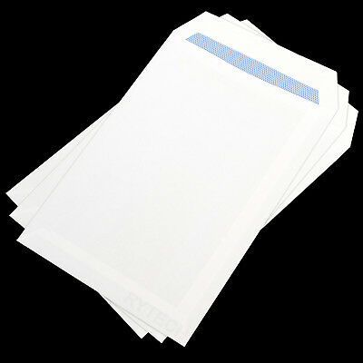 50 X C5 Plain White Envelopes Self Seal 90GSM Opaque Letter Mailing Office A5
