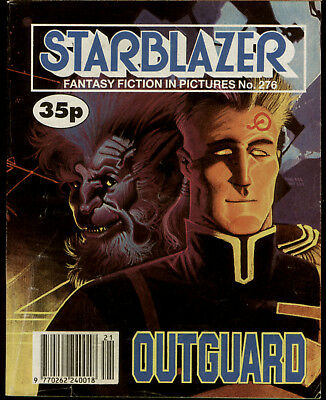 Outguard,starblazer Space Fiction Adventure In Pictures,no.276,1990