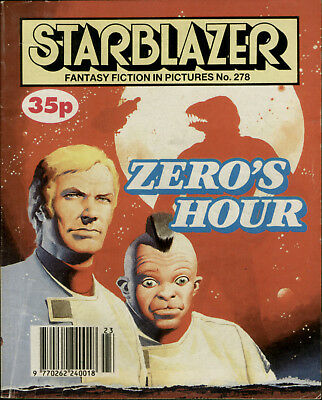 Zero's Hour,starblazer Space Fiction Adventure In Pictures,no.278,1990