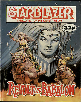Revolt On Babylon,starblazer Fantasy Fiction In Pictures,comic,no.253,1989