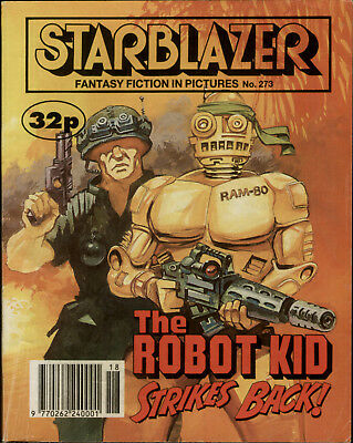 The Robot Kid,strikes Back,starblazer Space Fiction Adventure,no.273,1990