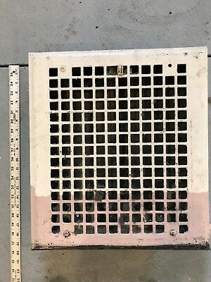"Large Vintage Antique  Heating Grate/Vent 16 1/4"" by 18 1/4"""
