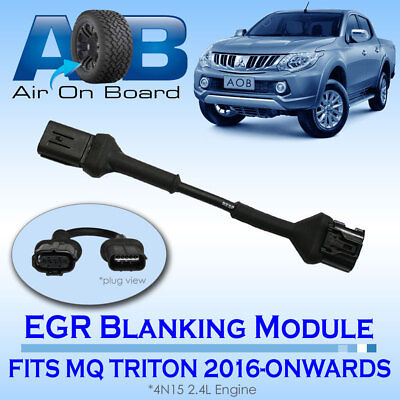 EGR 003 Blanking Module for Mitsubishi Triton MQ 4N15 2.4L Engine 2016 - Onwards