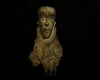 Fine Tribal Gallery - 0146 STUNNING RARE OLD BETE FACE MASK, COTE D'IVOIRE