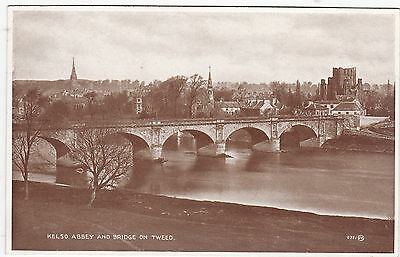 The Abbey, Bridge & River Tweed, KELSO, Roxburghshire